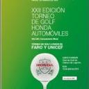 TORNEO DE GOLF A BENEFICIO DE UNICEF Y FARO's Cover