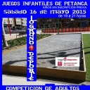 JUEGOS INFANTILES DE PETANCA. COMPETICIÓN DE ADULTOS's Cover