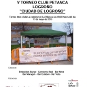 V TORNEO INTERCLUBES DE PETANCA's Cover