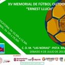 XV MEMORIAL DE FÚTBOL OUTDOOR ERNEST LLUCH's Cover