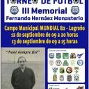 TORNEO DE FÚTBOL III MEMORIAL Fernando Hernáez's Cover
