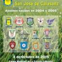 XXVI TORNEO DE FÚTBOL 8 SAN JOSÉ DE CALASANZ's Cover
