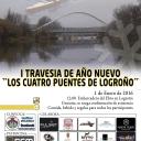 """I TRAVESÍA DE AÑO NUEVO """"LOS CUATRO PUENTES DE LOGROÑO""""'s Cover"""