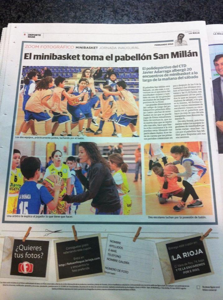 El minibasket toma el pabellón San Millán. Grandes sábados deportivos. Cuna de basket de formación y valores