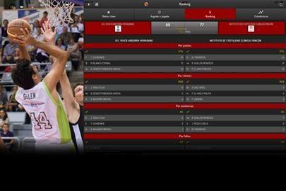 BALONCESTO EN VIVO FEB es la nueva APP del Basket Español<br />La Federación Española de Baloncesto ha puesto en marcha la Aplicación del Baloncesto Español (Baloncesto en Vivo FEB) a través de la cual seguir en Smartphones los resultados y estadísticas en directo de los partidos de las Competiciones Nacionales FEB...