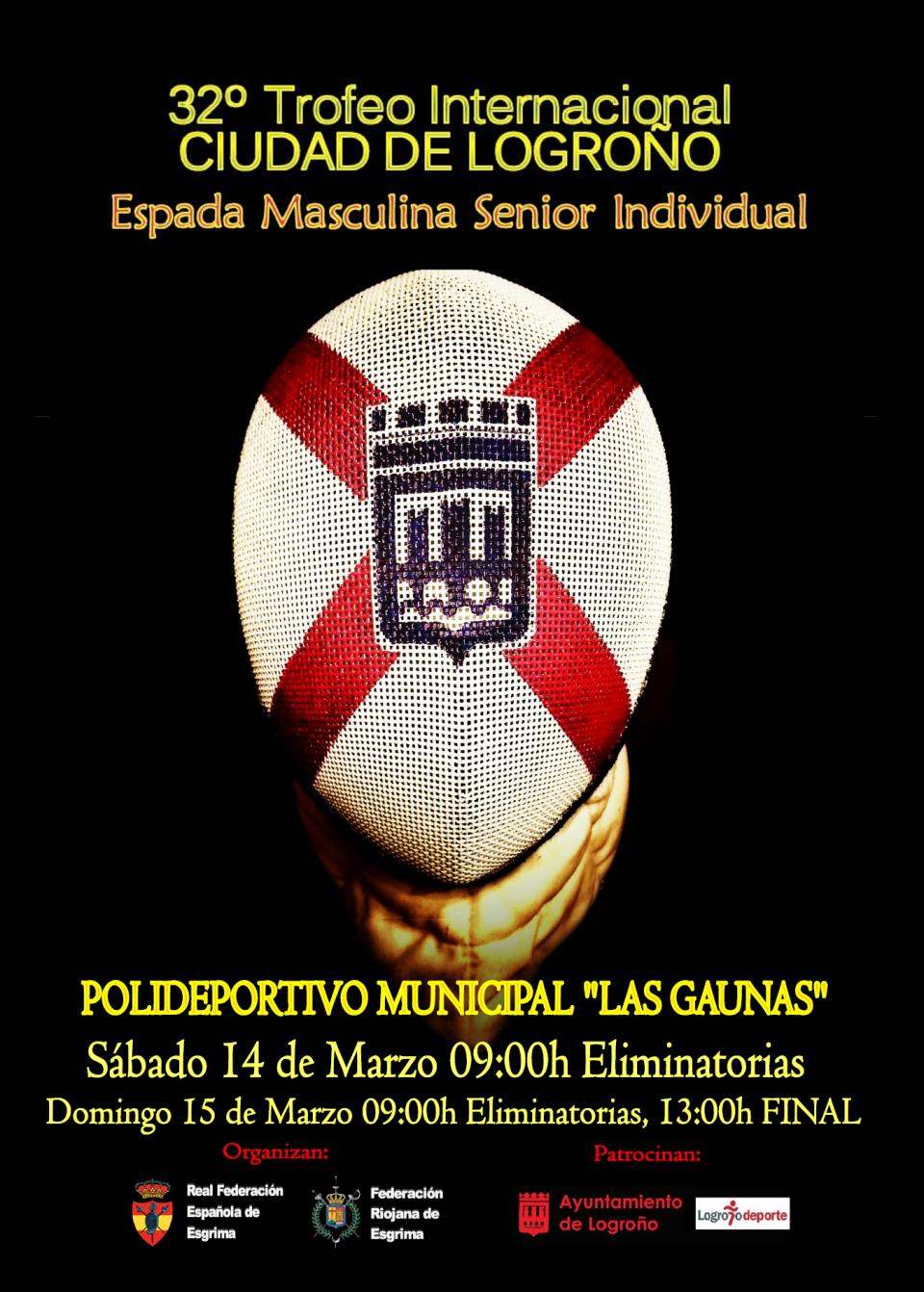 """32º TROFEO INTERNACIONAL """"CIUDAD DE LOGROÑO"""""""