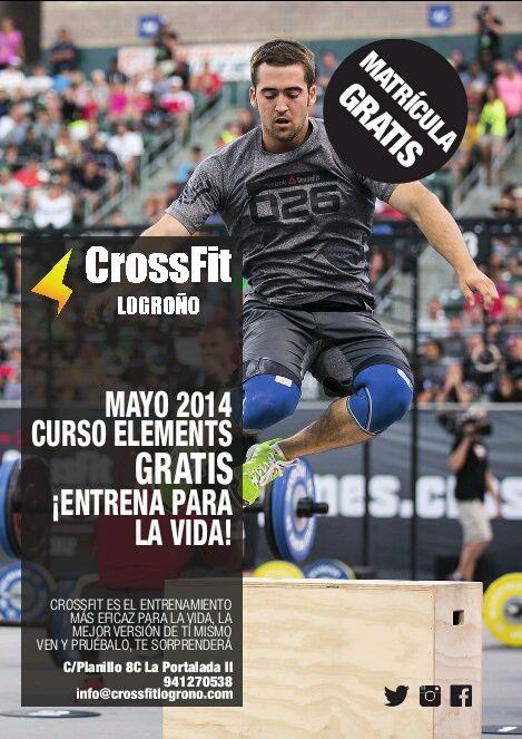 CrossFit Logroño, para desarrollar las capacidades básicas del cuerpo humano, acercaros y probarlo...es Gratis!!!