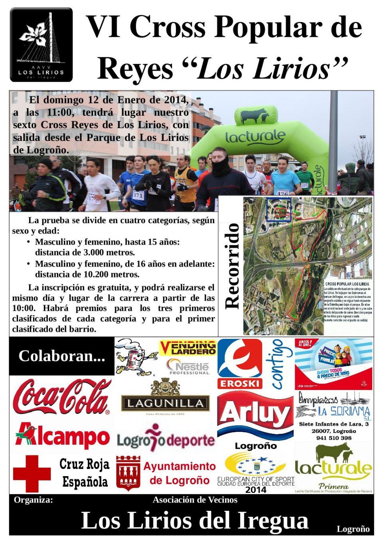 Recordad tod@s. <br />Primera carrera del Circuito Runners de Logroño. <br />Este domingo 12 a las 11.00. Los Lirios.<br /><br />¡¡No os la perdáis!!