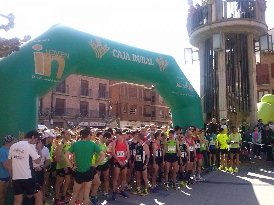 Salida cross popular entreviñas de Aldeanueva de Ebro