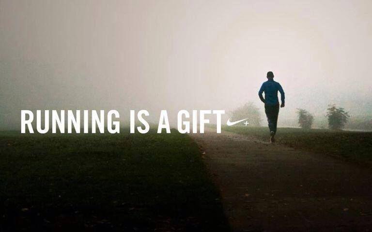 Correr es un regalo ¡Disfrutadlo!
