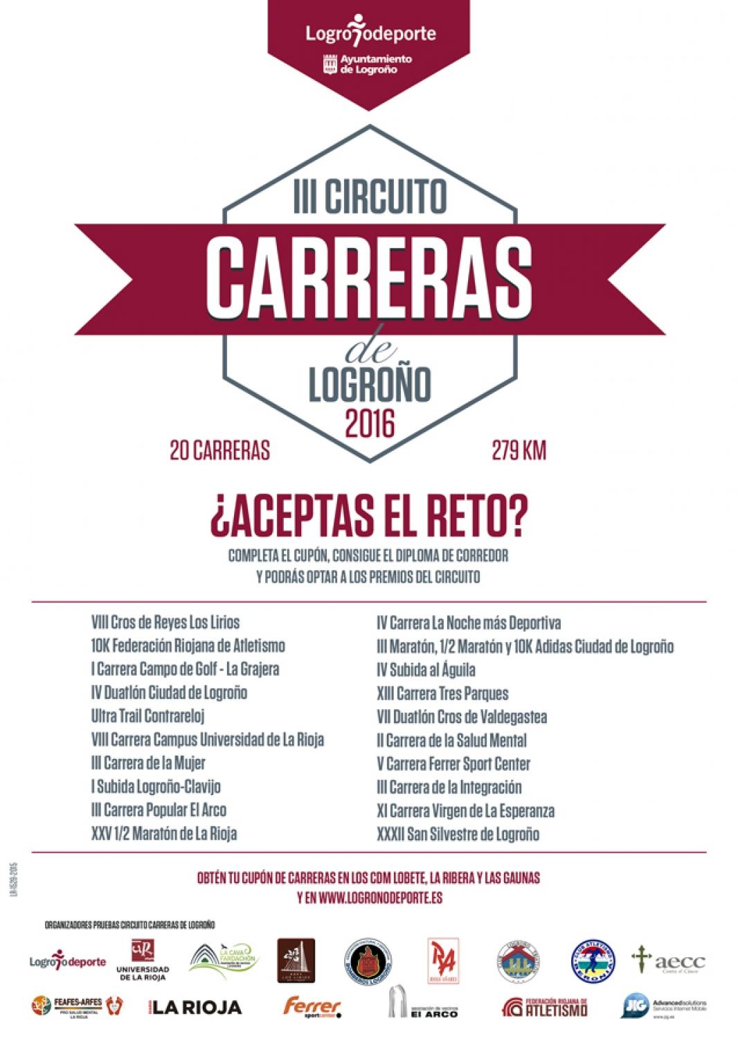 Circuito Mayor : Logroño deporte la gran comunidad del deporte logroñes iii